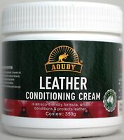 Leather Cleaning Conditioning Cream. Australian Made.