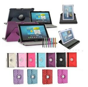 """PU Leather Smart Case Cover Stand For Samsung Galaxy Tab3 10.1"""" GT-P5210"""