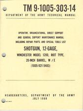 Shotgun, 12-Gage, Winchester 1200, Riot, Maintenance