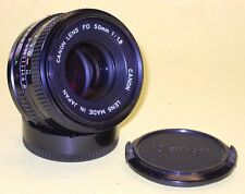 Canon Lens FDn 50mm 1:1,8 in very good condition!