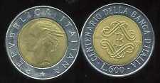 ITALIE   ITALY  500 lire 1993   ( bis )