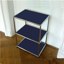 * Orig. USM Haller Regal * 70x50x35 * Highboard HiFi Möbel * Stahlblau Blau *
