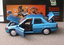 FORD ORION GHIA BERLINE 4 PORTES SCHABAK BLUE METAL 1/43 MADE IN GERMANY