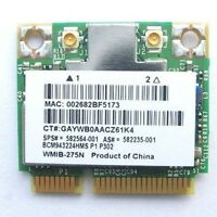 HP Broadcom BCM943224HMS Wireless Wifi N Half mini Card 582564-001 802.11abgn