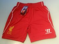 (sht005) Official Liverpool Warrior extra large boys football shorts BNIP