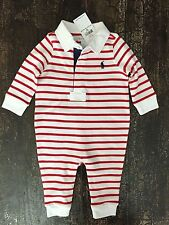 Ralph Lauren Boys' Striped Outfits & Sets (0-24 Months)