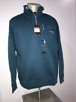 Nike Sportswear 1/4 Zip French Terry Women's Sweatshirt Size Large CU3560 347