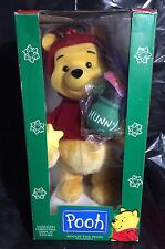 Winnie The Pooh Telco Animated Christmas Motion-ette Honey Pot Holiday