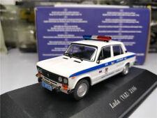 Atlas Editions 1:43 Police Cars Lada VAZ 2106 Model Car