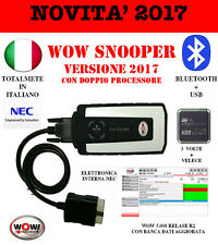 Novita Assoluta Diagnosi 2017 WOW snooper PLUS bluetooth dual core