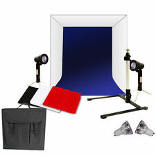 """Photo Studio 16""""Photography Light Tent Backdrop Stand Kit Cube Lighting In A Box"""