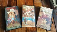 Horse Training VHS Lot Tommy Manion Jerry Wells Farnam Video Collections