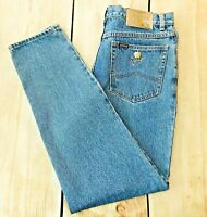 "Women's Texwood Vintage Apple Jeans High Waisted 12"" Rise Medium Wash 31 X 30"