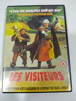 Les Visiteurs Jean Reno Christian Clavier - Region 2 DVD Frances Ingles - 3T