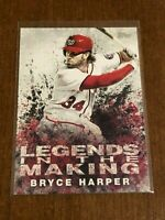 2018 Topps Baseball Legends in the Making - Bryce Harper - Washington Nationals
