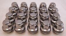 20 New Toyota Highlander Rav4 Venza Factory OEM Polished Stainless Lug Nuts Lugs