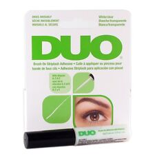 DUO Brush On Striplash Adhesive False Eyelash Invisible Glue White/Clear (Green)