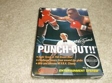 NES MIKE TYSONS PUNCH OUT - COMPLETE W/ GAME, BOX, MANUAL, FOAM, AND LETTER