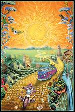Grateful Dead Golden Road Music Art Print Poster - 24x36
