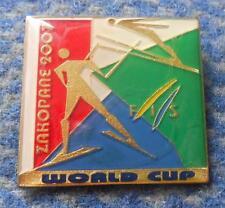 FIS WORLD CUP SKI FLYING JUMPING NORDIC SKI POLAND ZAKOPANE 2007 PIN BADGE