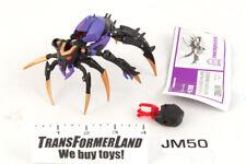 Blackarachnia 100% Complete Deluxe Animated Transformers