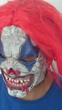 Halloween Scary Clown Latex Mask Adult Costume Cosplay Joker Killer Evil Horror