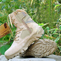 TACTICAL OUTDOOR HUNTING LINGHTWEIGHT COMBAT BOOTS MULTI COLORS IN SIZES