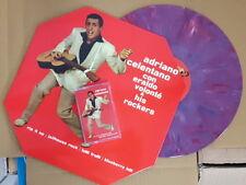 ADRIANO CELENTANO Con Eraldo Volonte'.. (ltd.ed.col. vinyl octagon cover) LP+MC