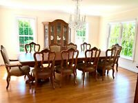 Ethan Allen Tuscany Dining Set - excellent condition