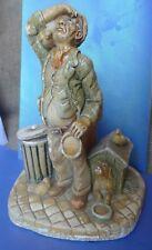 VTG Naturcraft Ltd England Handpainted Figure Figurine Late HOMER Man Dog Rover