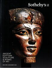Sotheby's Ancient Egyptian Sculpture & Works of Art NY December 8 2015