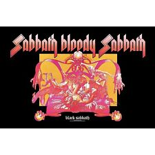 Black Sabbath .. Bloody Sabbath large fabric poster / flag 1100mm x 700mm (rz)