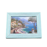 Picture frames  Made of Solid Wood High Definition Shatter Resistant Glass Photo