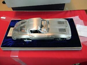 Franklin Mint Limited Edition Pewter 1963 Corvette Sting Ray 1/12  0882/1000