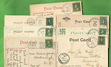 ANTIQUE 1905 TO 1941 POSTCARDS CATSKILLS MOUNTAINS NEW YORK LOT OF 47 CARDS