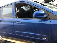 SSANGYONG ACTYON 2007 - 2012 RIGHT FRONT DOOR MIRROR BLUE