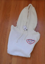 NWT Hollister Men Newport Hoodie Cream Large by Abercrombie & Fitch