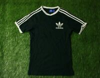 ADIDAS CALIFORNIA ORIGINAL 3 STRIPES MENS CASUAL SHIRT T-SHIRT TEE JERSEY SIZE S