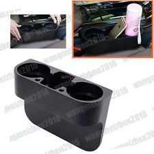 Car Seat Seam Wedge Cup Holder Food Drink Bottle Mount Stand Storage Organizer