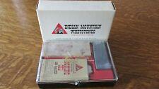 Indian Mountain Honing Kit Sharpening Stone Arkansas Vintage Knife Sharpener New