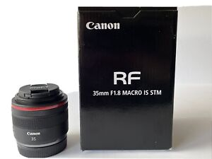Canon RF 35mm F1.8 Macro IS STM Camera Lens