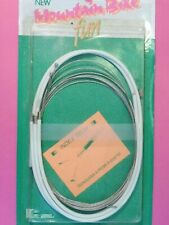 Casiraghi Mountain Bike Gear cableset / White bicycle / NOS
