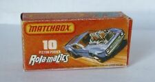 Repro box MATCHBOX superfast Nº 10 piston popper rola-tra