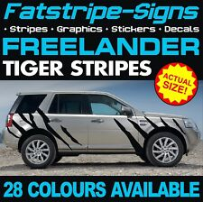 Land Rover Freelander Tiger Stripes Graphics decals stickers TD4 LR2 2.0 2.2 4x4