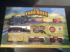 "Bachman Electric N Scale Train Set "" The Yard Boss "" NEW E-Z TRACK SYSTEM"