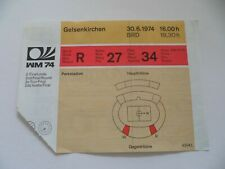 WM1974 Holland-DDR Ticket  FIFA Weltmeisterschaft  **415**