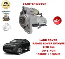 FOR LAND ROVER RANGE ROVER EVOQUE 2.2 D 4x4 2011 >ON STARTER MOTOR