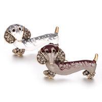 Dog Animal Shape Brooch Popular Accessories Fashion Jewelry Lapel Pin