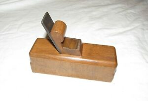 Antique wooden plane box chamfer plane old woodworking tool plane