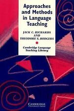 Approaches and Methods in Language Teaching : A Description and Analysis (Cambri